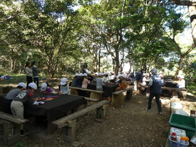 淡輪小学校1年生遠足「うみべの森散策」_c0108460_15231890.jpg