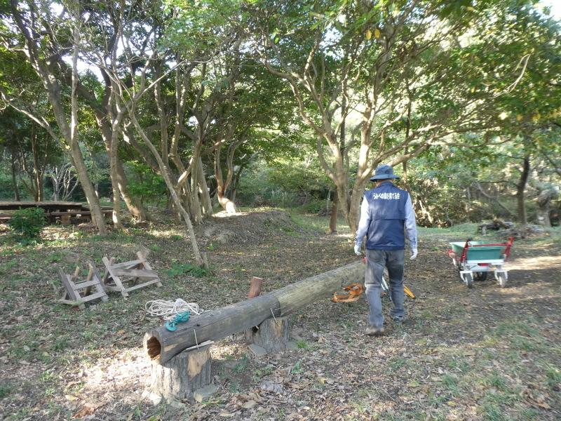 淡輪小学校1年生遠足「うみべの森散策」_c0108460_15314481.jpg
