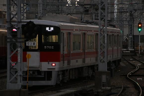 阪神尼崎駅にて! リニューアル山陽5000系_d0202264_10283585.jpg