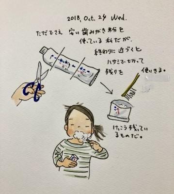 歯磨き粉を使い切る_f0072976_11481464.jpeg