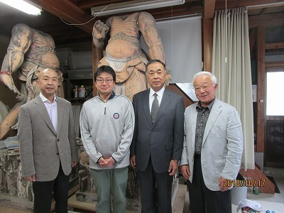 松岡先生工房訪問   浦佐小学校発表会    第2回KJ後援会総会_b0092684_17122000.jpg
