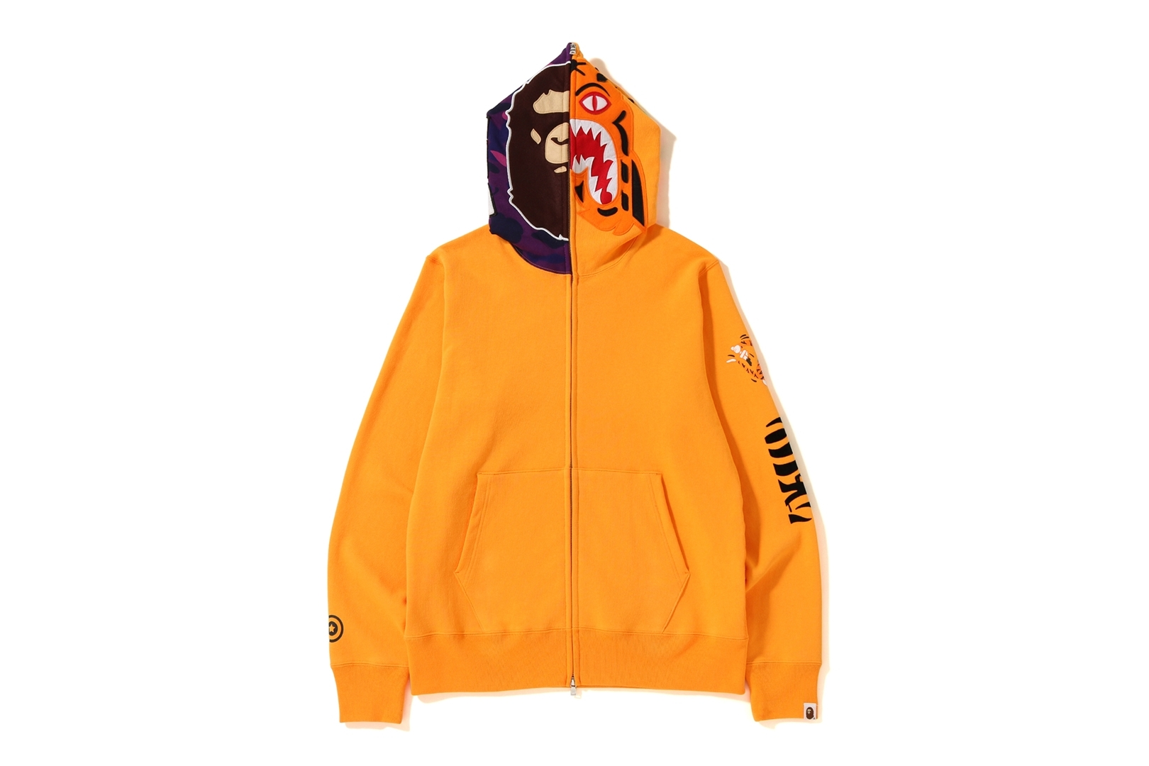 2ND APE TIGER FULL ZIP HOODIE_a0174495_17222494.jpg