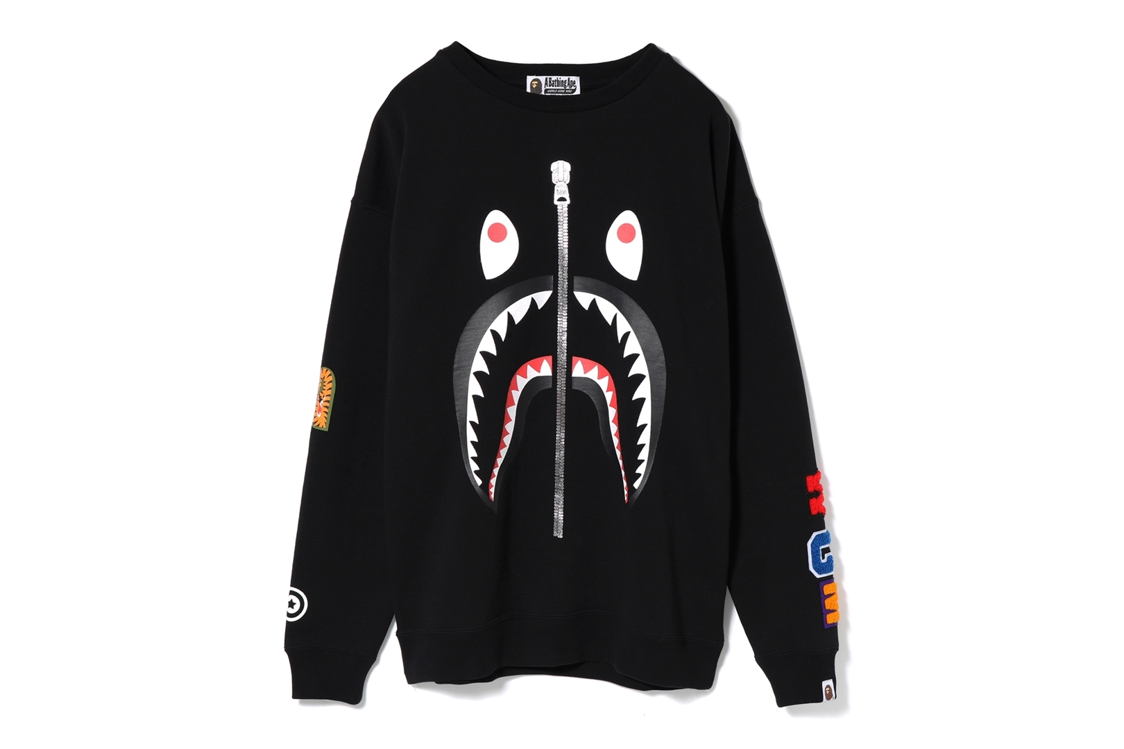 SHARK OVERSIZED CREWNECK_a0174495_17270443.jpg