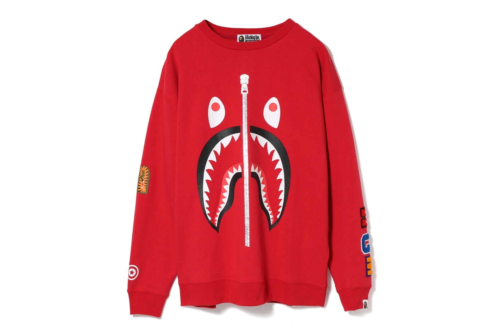 SHARK OVERSIZED CREWNECK_a0174495_17274404.jpg