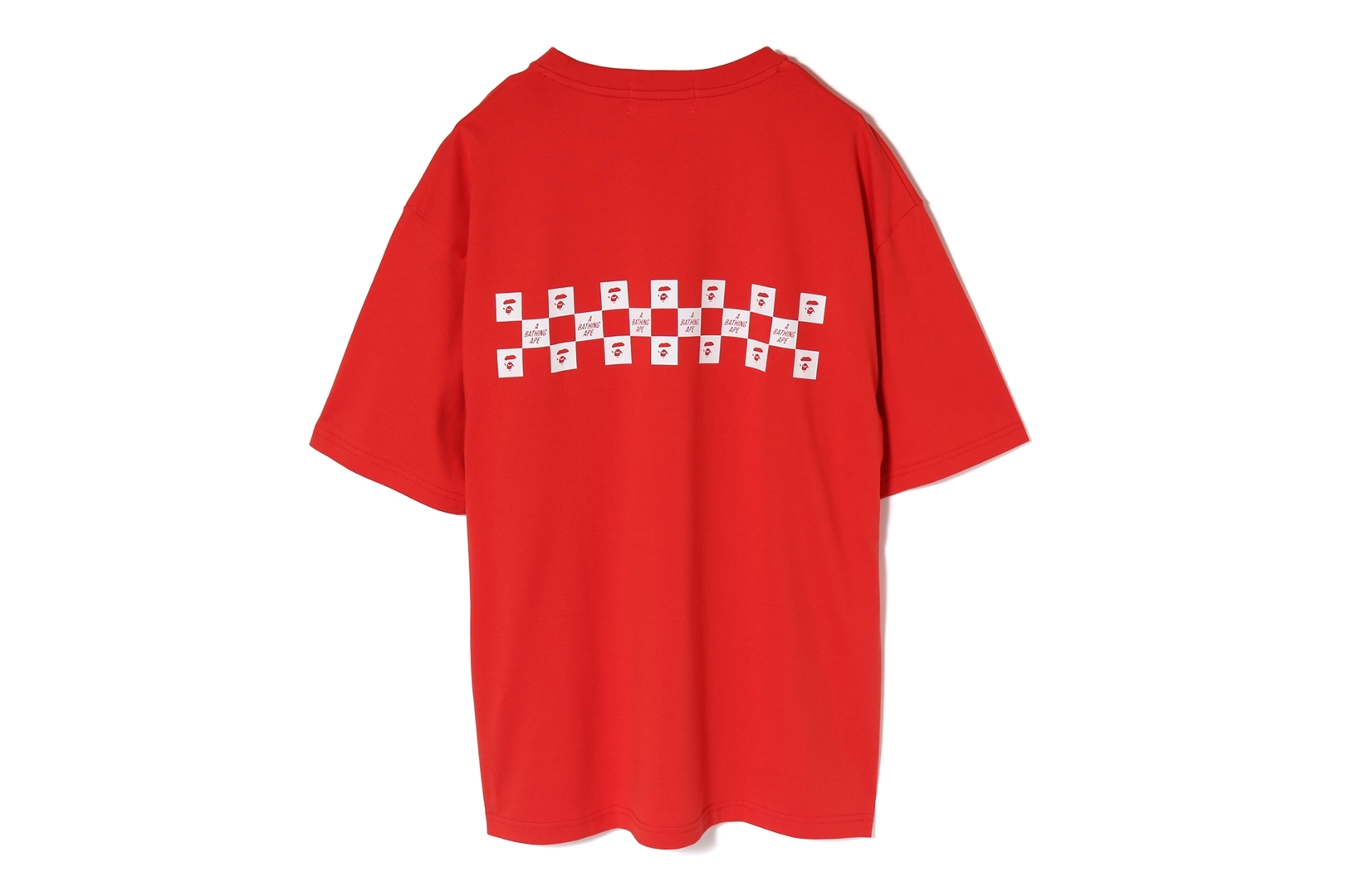 BAPE CHECKER OVERSIZED TEE_a0174495_17295019.jpg