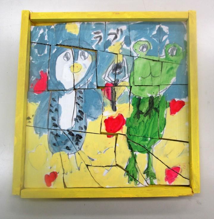 子供アトリエは木工でパズル作り_c0100195_06230399.jpg