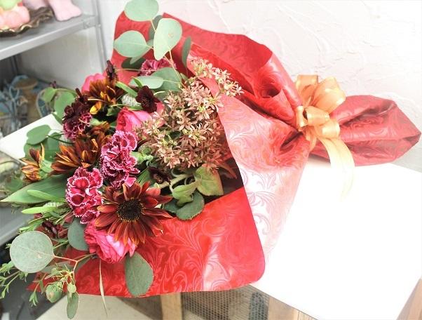 結婚記念日 花束プレゼント_d0227610_17172810.jpg