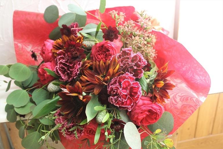 結婚記念日 花束プレゼント_d0227610_17175102.jpg