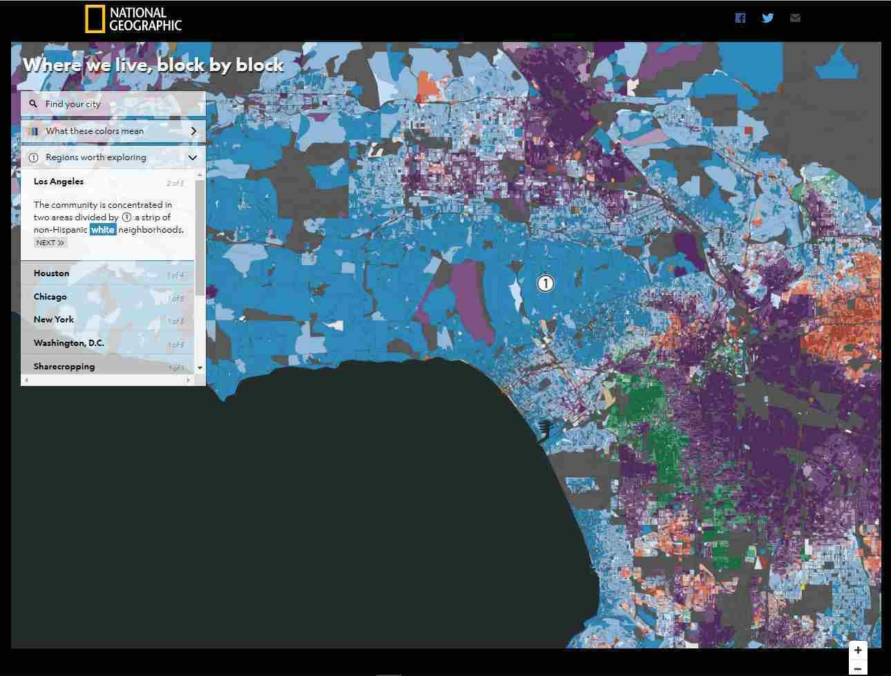 ロサンゼルスの人種分布地図_c0025115_22193568.jpg