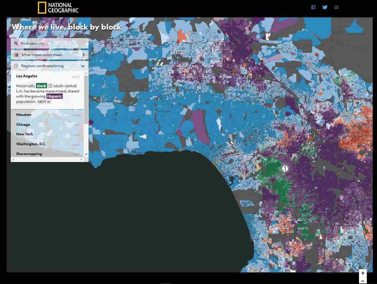 ロサンゼルスの人種分布地図_c0025115_22265147.jpg