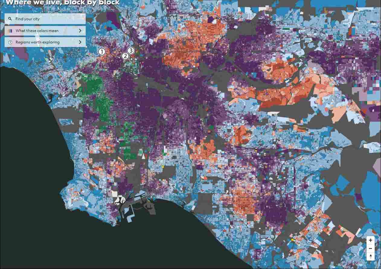 ロサンゼルスの人種分布地図_c0025115_22351164.jpg