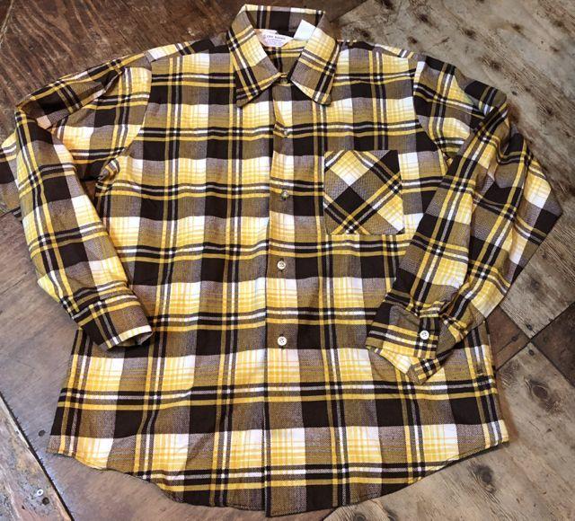 10月27日(土)入荷!デッドストック all cotton  70s ERIC DAMON WORK プリントネルシャツ!!_c0144020_14112397.jpg