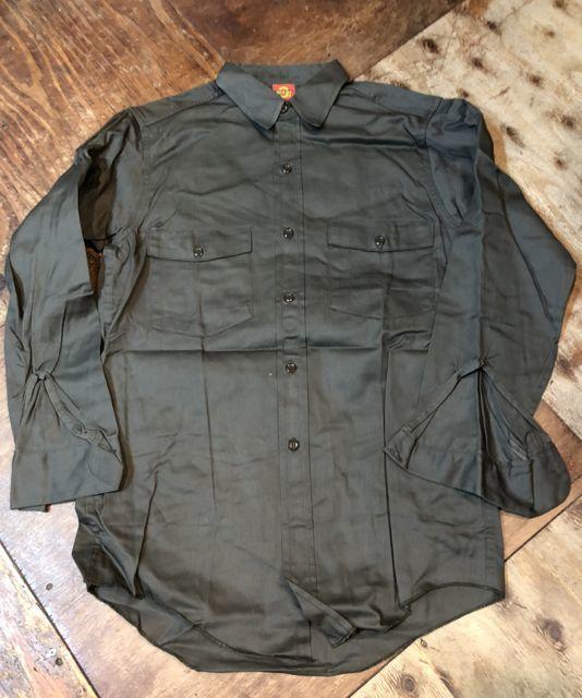 10月27日(土)入荷!デッドストック!all cotton 50s~デッキーズ ワークシャツ!_c0144020_14152132.jpg