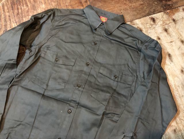 10月27日(土)入荷!デッドストック!all cotton 50s~デッキーズ ワークシャツ!_c0144020_14152386.jpg