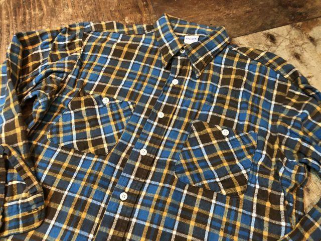 10月27日(土)入荷!60s BIG YANK ヘビーネルシャツ!_c0144020_15015107.jpg