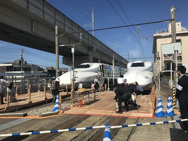 新幹線ふれあいデーin博多総合車両所_d0177220_14574616.jpg
