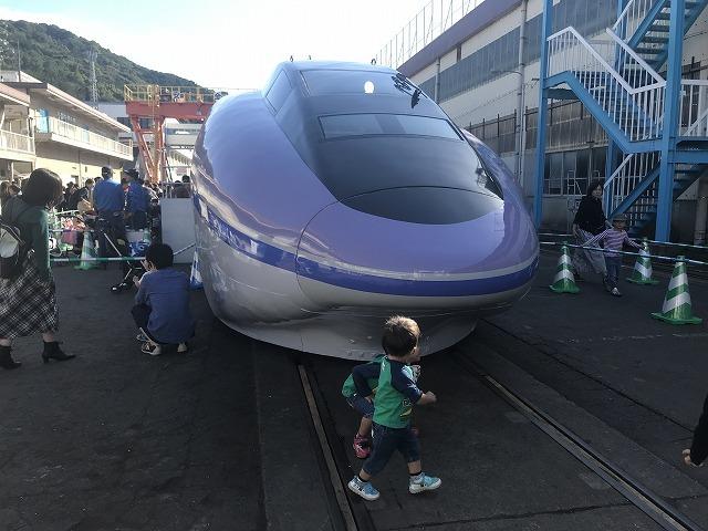 新幹線ふれあいデーin博多総合車両所_d0177220_14574638.jpg