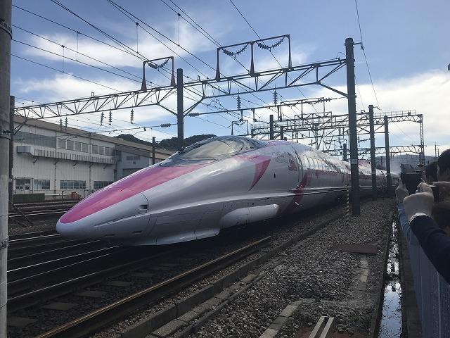新幹線ふれあいデーin博多総合車両所_d0177220_14574779.jpg