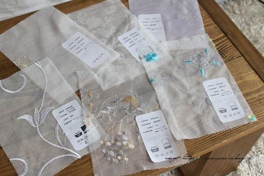 【オーダーカーテン】お洒落な刺繍入りレースカーテンでリビングの模様替え♪_f0023333_08112037.jpg