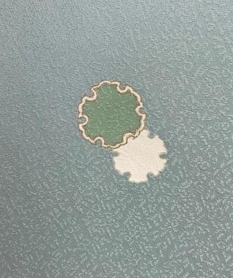 西陣まいづる新作雪の結晶九寸黒地+千切屋雪輪小紋_f0181251_1532416.jpg