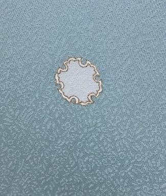 西陣まいづる新作雪の結晶九寸黒地+千切屋雪輪小紋_f0181251_1532742.jpg
