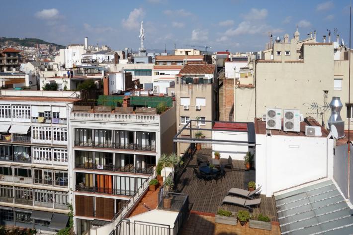 カサ・ミラ Casa Mila, La Pedrera アントニ・ガウディ Antoni Gaudi 2018年9月 バルセロナの旅(3)_f0117059_21302030.jpg