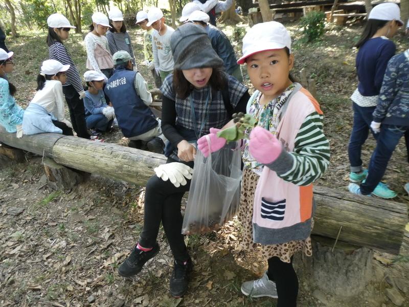 東光小学校4年生遠足「里山体験」サポート_c0108460_16234123.jpg