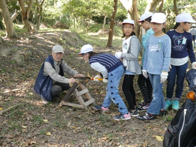 東光小学校4年生遠足「里山体験」サポート_c0108460_16234263.jpg