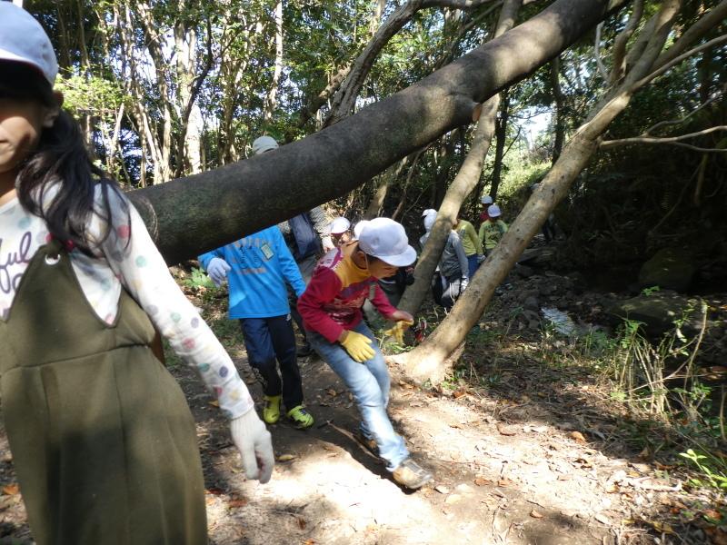 東光小学校4年生遠足「里山体験」サポート_c0108460_16264593.jpg
