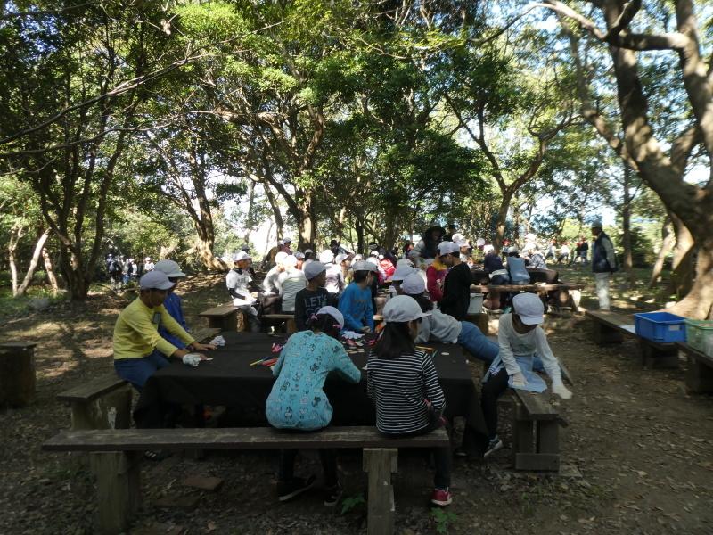 東光小学校4年生遠足「里山体験」サポート_c0108460_16322902.jpg