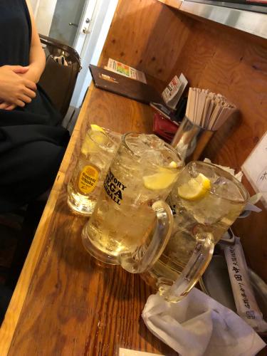銀座オシャレワイン女子会からの串カツタナカに行ったのは私たちです。 やはり、そーなるよねw_c0151965_01112956.jpg