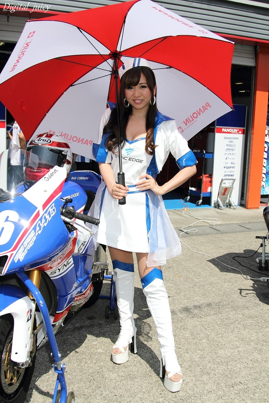 柏木まりな さん(SYNC EDGE 4413 Racing GAL)_c0216181_22265090.jpg