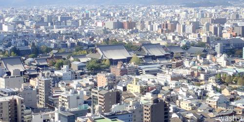 はじめての京都タワー_b0029488_16422805.jpg