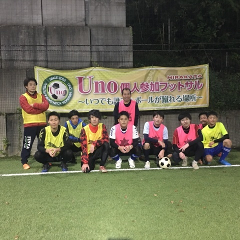 UNO 10/25(木) at UNOフットボールファーム_a0059812_01024910.jpg