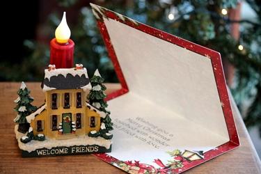小さなクリスマスハウスと新作のクリスマスカード♪_f0161543_15164086.jpg