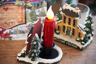 小さなクリスマスハウスと新作のクリスマスカード♪_f0161543_15171248.jpg