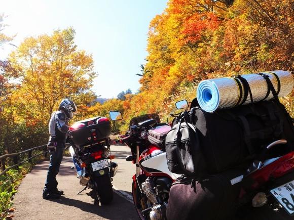 2018 秋 紅葉とキャンプツーリング Bikeで行ってきまーす!_c0261447_10433658.jpg