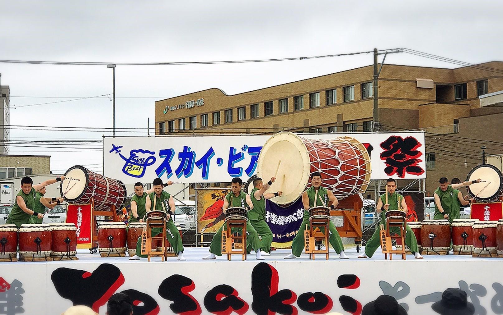 2018スカイ・ビア&YOSAKOI祭/千歳市_c0378174_15225882.jpg