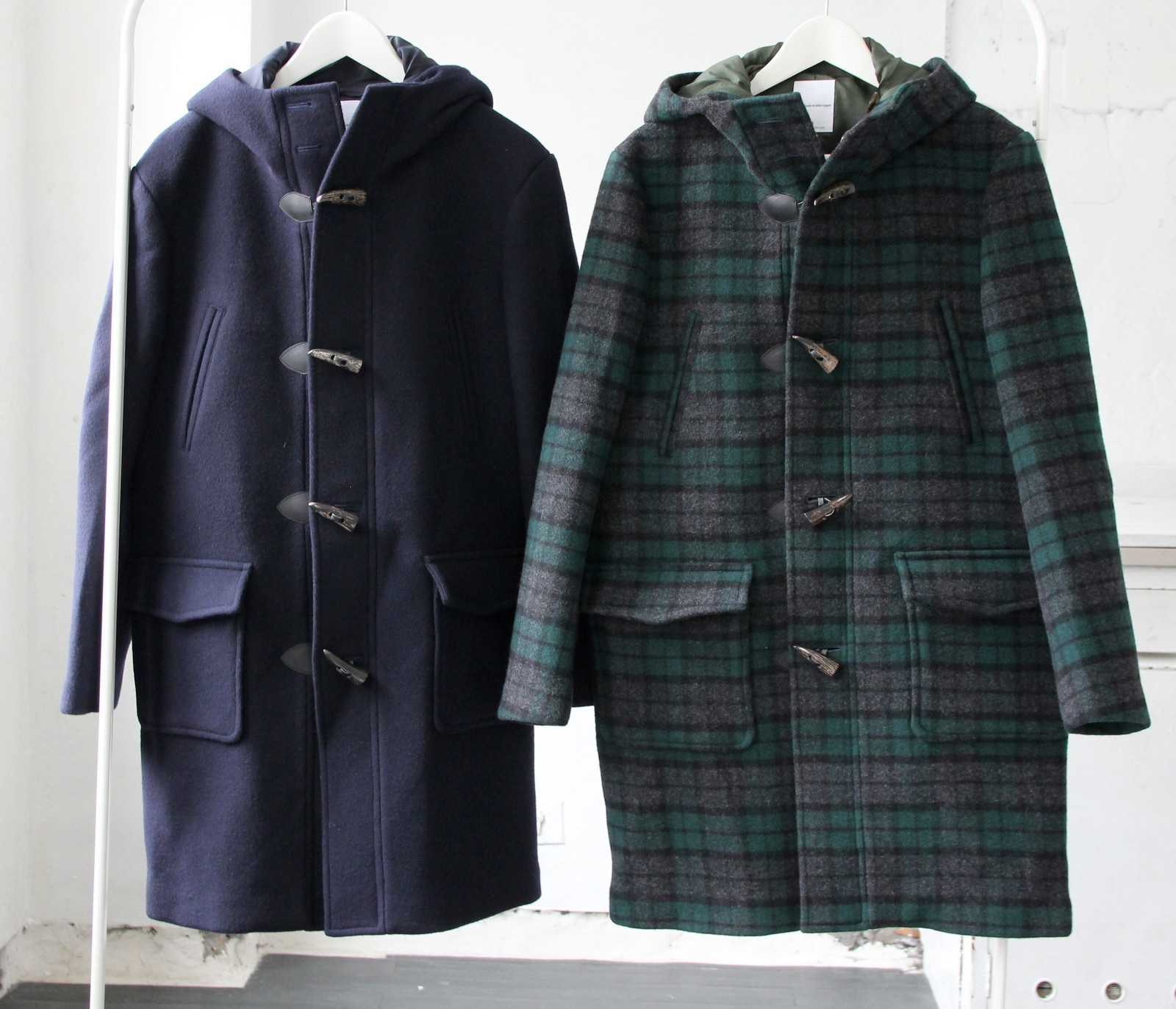 Wool Melton Duffel Coat_c0379477_17403052.jpg