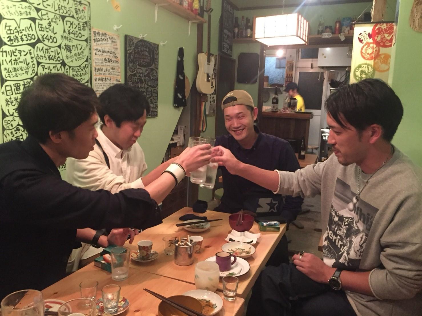 Party前の  砂丘屋_e0115904_19384529.jpg