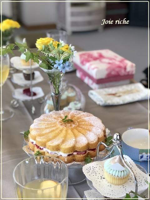 お茶箱でアフタヌーンティー_d0380923_21471148.jpg
