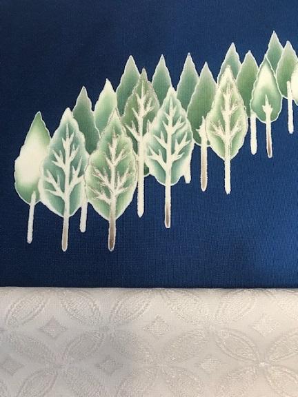 商品紹介・千切屋仕入・雪木立にキツネの帯をコーディネイト。_f0181251_1259369.jpg