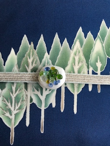 商品紹介・千切屋仕入・雪木立にキツネの帯をコーディネイト。_f0181251_131495.jpg