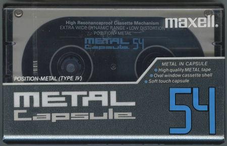 Maxell METAL Capsule_f0232256_13445468.jpg