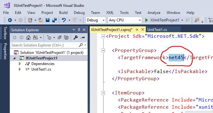 .NET Framework 上での xUnit 単体テストを SDK スタイルのプロジェクト形式で作る_d0079457_00252265.png