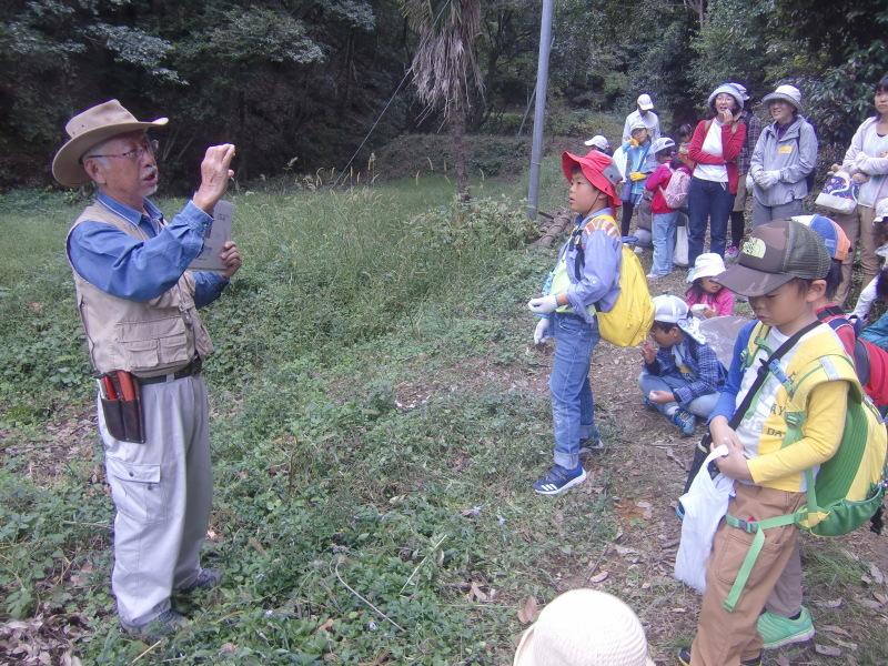 きのくに子どもNPO「秋の里山で遊ぼう!ハイキング!」・・・孝子の森_c0108460_19245172.jpg