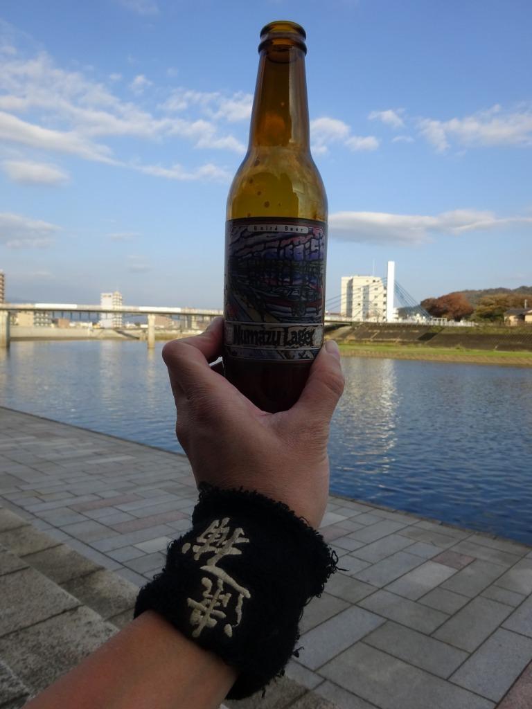 二年ぶり南伊豆~沼津 8 沼津リバーサイド前、狩野川でビール_d0061678_11054105.jpg