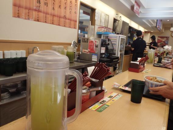 なか卯の和風牛丼ミニとはいから小うどん          神戸元町店_c0118393_07481509.jpg