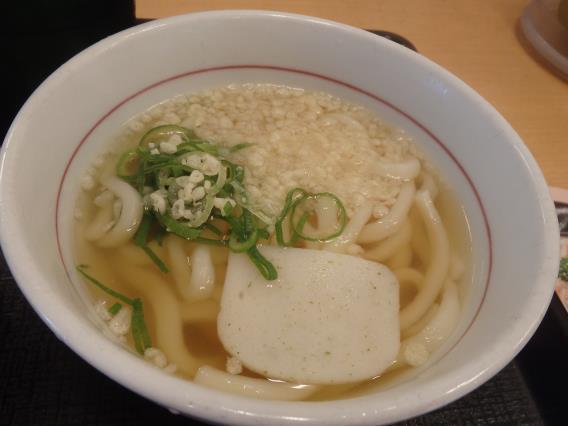 なか卯の和風牛丼ミニとはいから小うどん          神戸元町店_c0118393_08144038.jpg