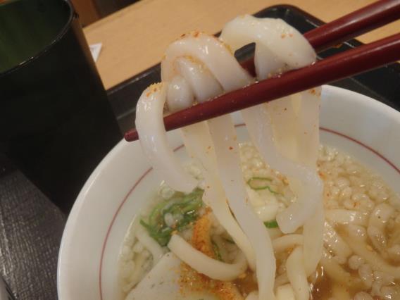 なか卯の和風牛丼ミニとはいから小うどん          神戸元町店_c0118393_08352914.jpg